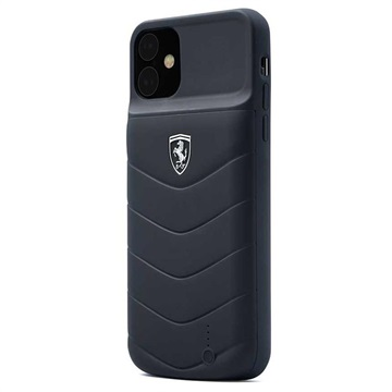 Scuderia Ferrari Off Track Full Cover iPhone 11 Battery Case - Black