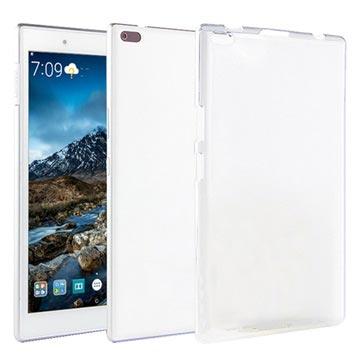 purchase cheap be1cf 013eb Flexible Matte Lenovo Tab 4 8 TPU Case - Frost White