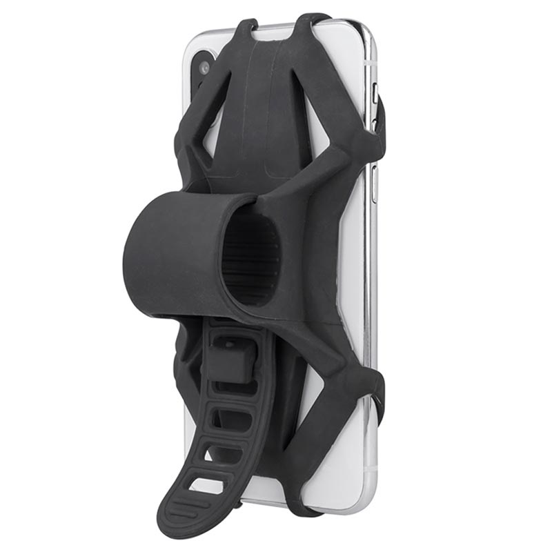 "Forever BH-120 Universal Silicone Bike Holder - 4""-6"""