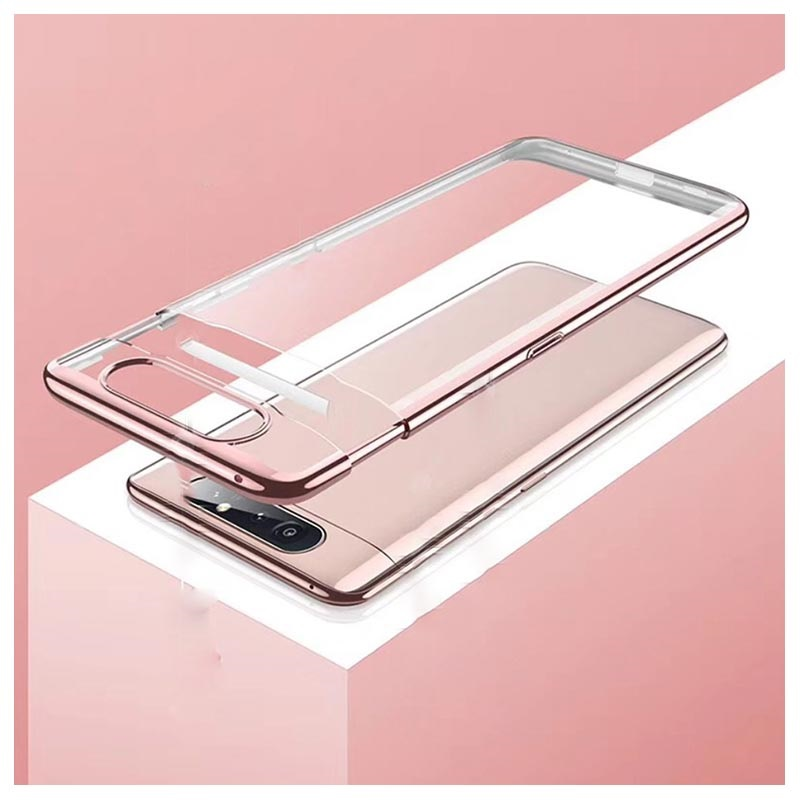 GKK Shock-Resistant Samsung Galaxy A80 Case - Rose Gold