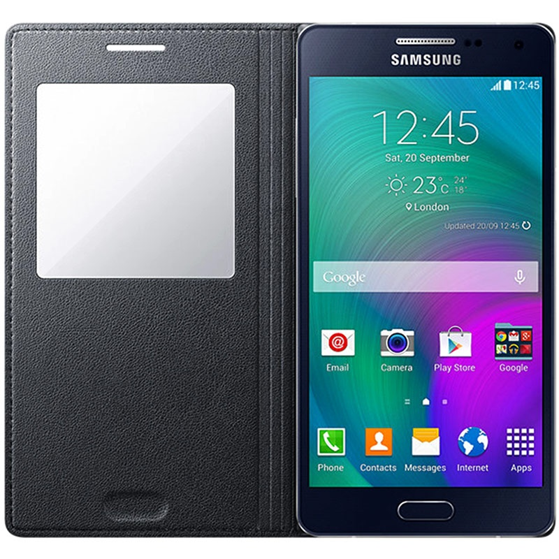 innovative design 17b5a 50a2f Samsung Galaxy A5 (2015) S-View Flip Case EF-CA500BC