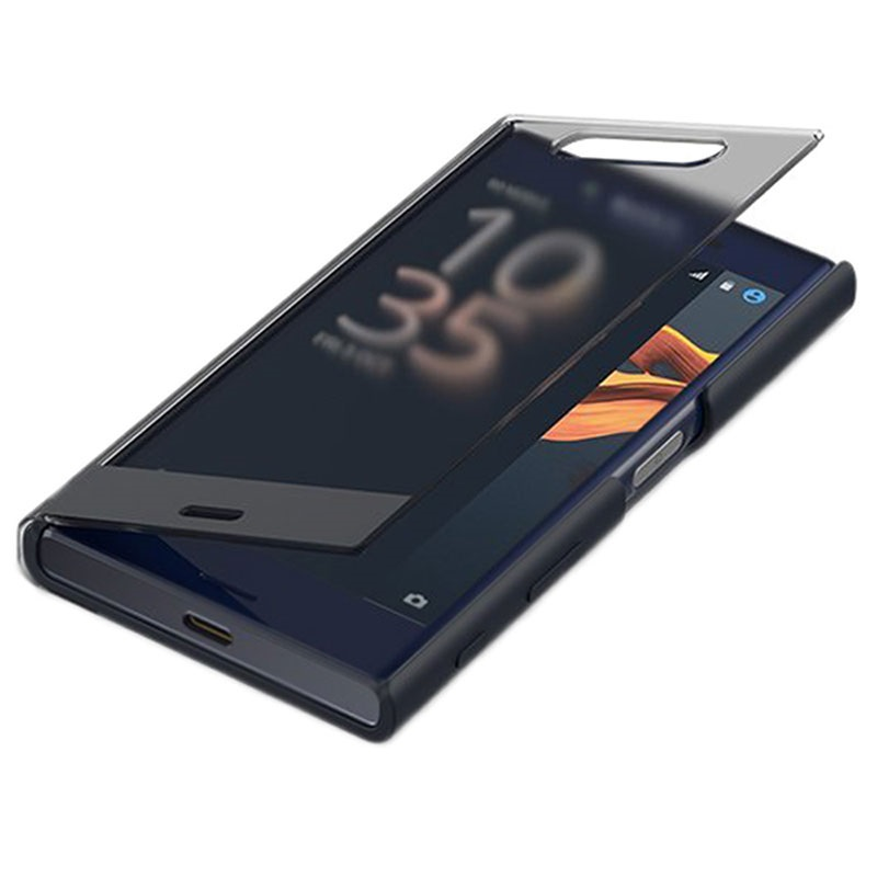 Sony Xperia X Compact Style Cover Touch Sctf20 Black