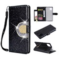 iPhone 11 Pro Glitter Wallet Case with Mirror