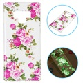 Glow in The Dark Samsung Galaxy Note9 TPU Case - Roses