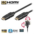 Goobay High Speed HDMI Cable with Ethernet - Rotatable