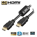 Goobay High Speed HDMI Cable with Ethernet - Ferrite Core - 2m
