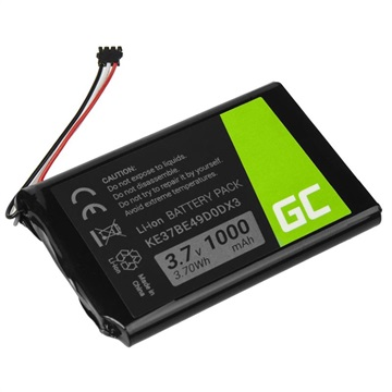 Green Cell Battery - Garmin Nüvi 2547LMT, 2789LMT, Edge 800, 810, Dēzl  560LMT - 1000mAh