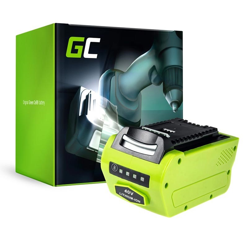 Green Cell Battery Greenworks G Max 40v 2500107 25302 20302 22147t 4ah