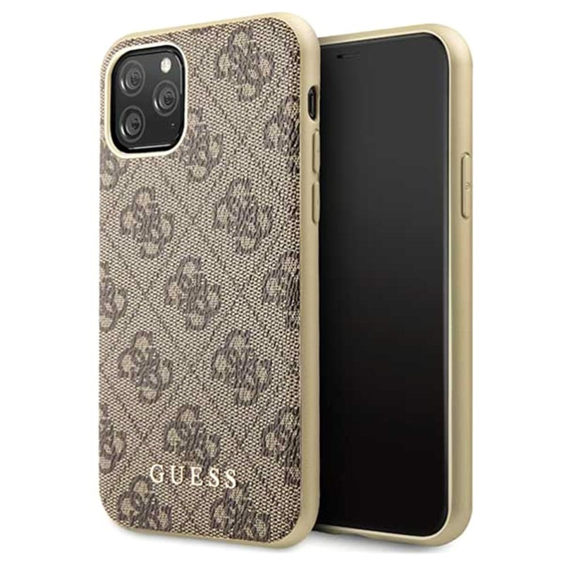 Guess Charms Collection 4G iPhone 11 Pro Max Case - Brown