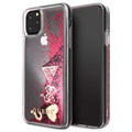 Guess Glitter Collection iPhone 11 Pro Max Case - Raspberry