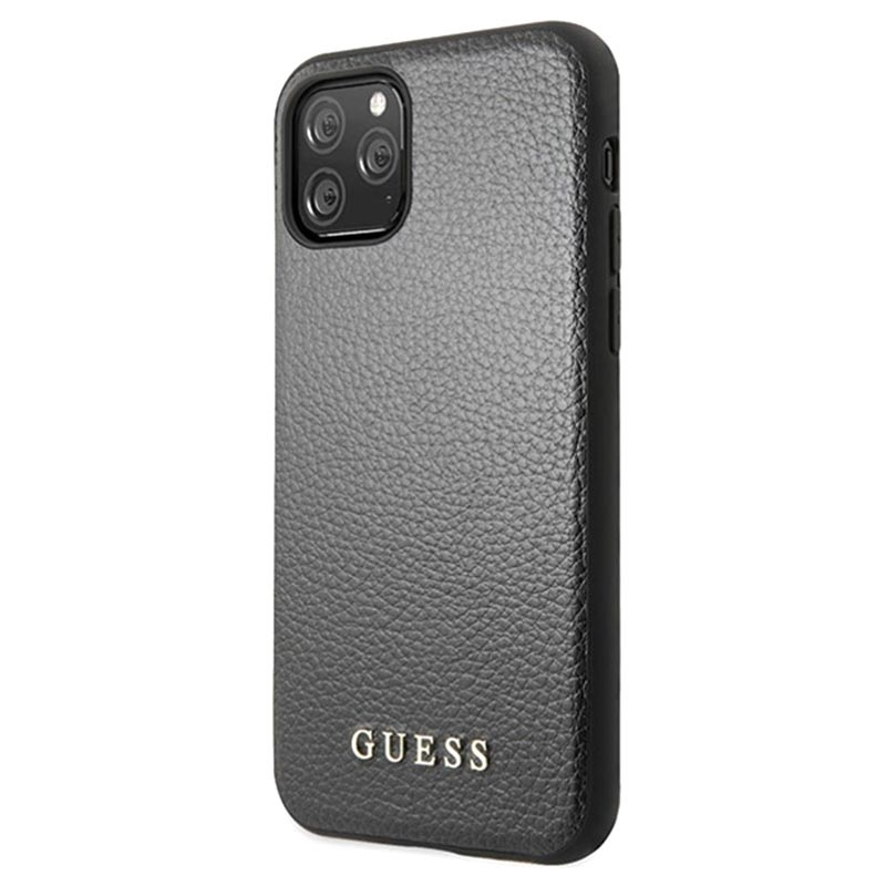 Guess Iridescent Collection iPhone 11 Pro Case Black