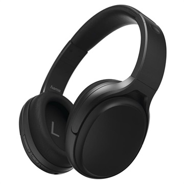 Hama Tour Anc Over Ear Bluetooth Headphones With Microphone Black