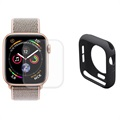 Hat Prince Apple Watch Series SE/6/5/4 Full Protection Set - 40mm - Black