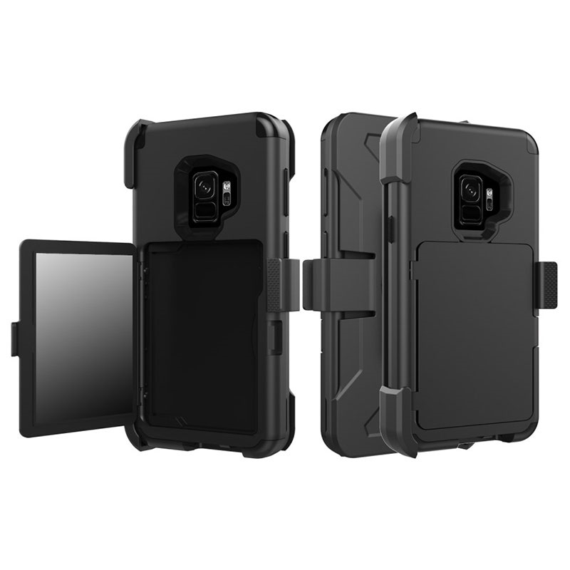 cheap for discount 3ff4f 3c190 Samsung Galaxy S9 Heavy Duty Holster Case with Belt Clip
