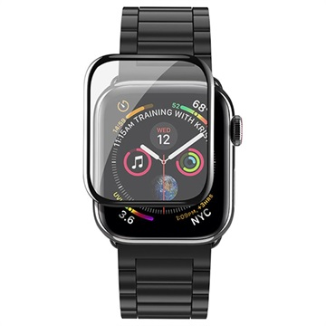 the latest 278ef 184b2 Hoco Curved HD Apple Watch Series 4 Screen Protector - 44mm - Black