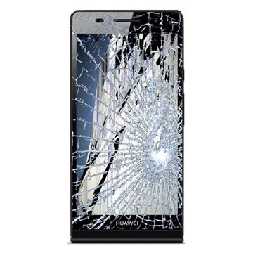 Huawei Ascend P6 Lcd And Touch Screen Repair Black