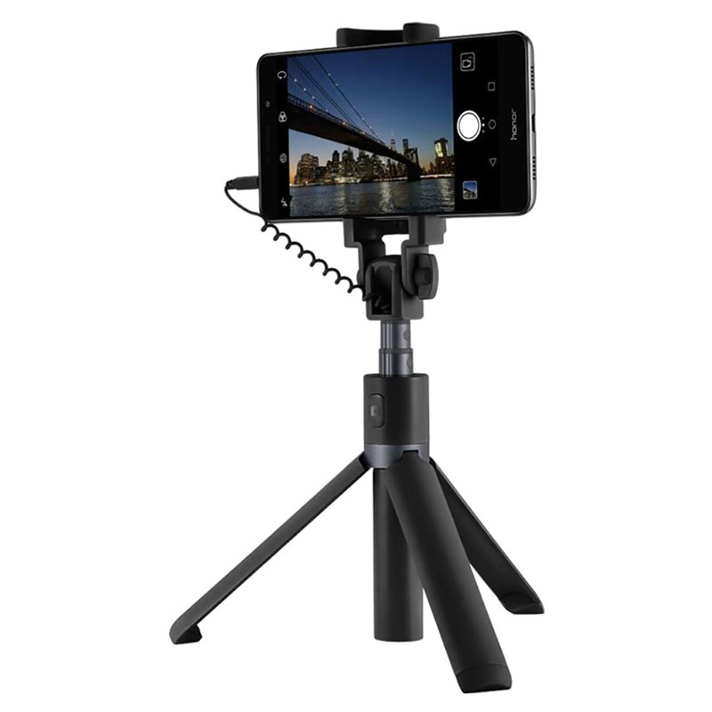 huawei honor selfie stick tripod stand black. Black Bedroom Furniture Sets. Home Design Ideas