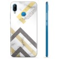 Huawei P20 Lite TPU Case - Abstract Marble