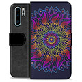 Huawei P30 Pro Premium Wallet Case - Colorful Mandala