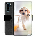 Huawei P30 Pro Premium Wallet Case - Dog