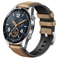 Huawei Watch GT 55023253 - Leather Silicone Strap - Saddle Brown