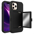 iPhone 12 Pro Max Hybrid Case with Hidden Mirror & Card Slot