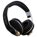 JKR 218B Foldable Over-Ear Bluetooth Stereo Headset - Black