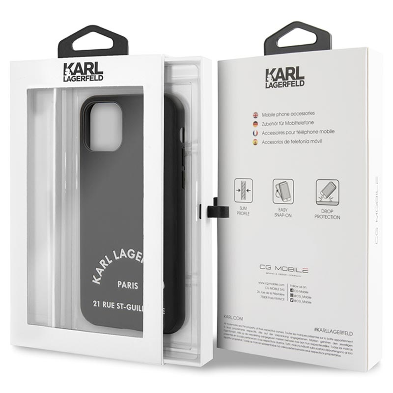 Karl Lagerfeld Rue St Gullaume iPhone 11 Pro Max Case - Black