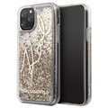 Karl Lagerfeld Signature Liquid Glitter iPhone 11 Pro Case