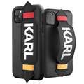 Karl Lagerfeld Strap iPhone 11 Pro Case - Black