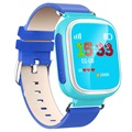 Kids GPS Tracking Smartwatch with Hands-Free Q70 - Blue