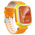 Kids GPS Tracking Smartwatch with Hands-Free Q70 - Yellow
