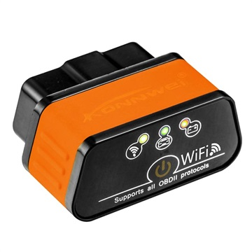 ELM327 WIFI OBD2 OBDⅡ Autos Diagnostic Interface Scanner For Android /& IOS /& PC