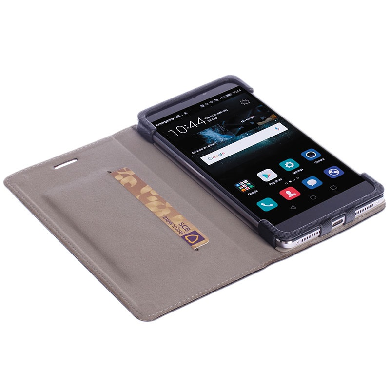 huawei p9 lite krusell malmo wallet case black. Black Bedroom Furniture Sets. Home Design Ideas