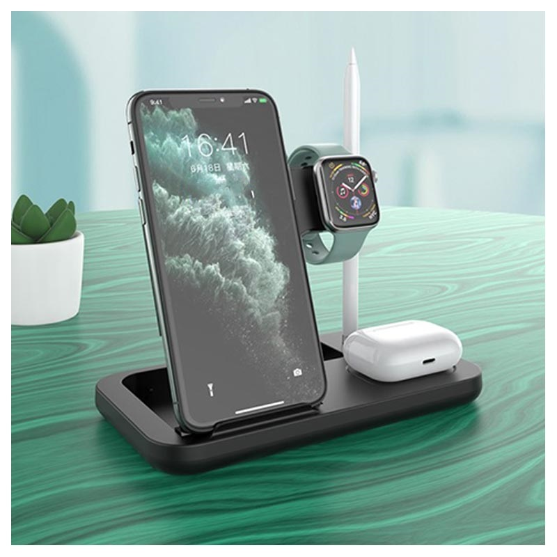 Kuulaa KL-0146 4-in-1 Foldable Wireless Charging Station