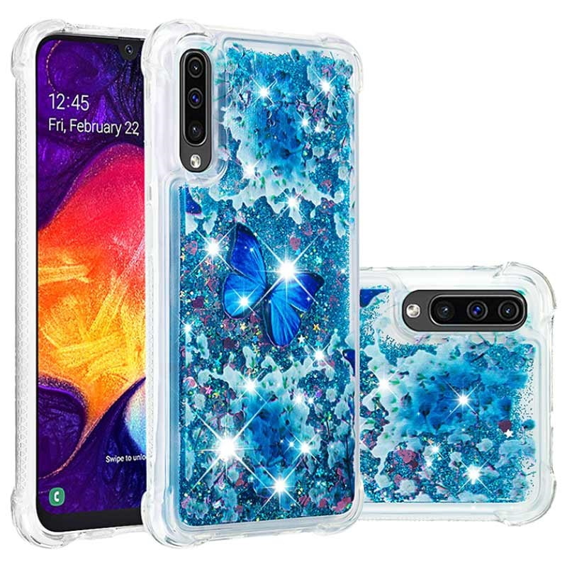 Liquid Glitter Samsung Galaxy A50 TPU Case