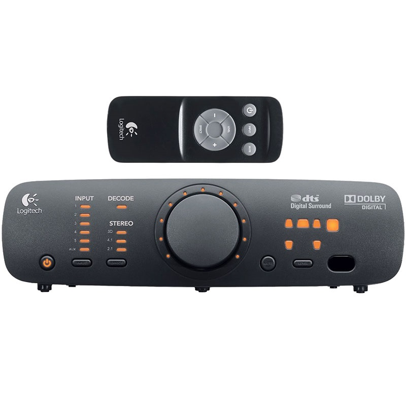 logitech z906 speaker system. Black Bedroom Furniture Sets. Home Design Ideas