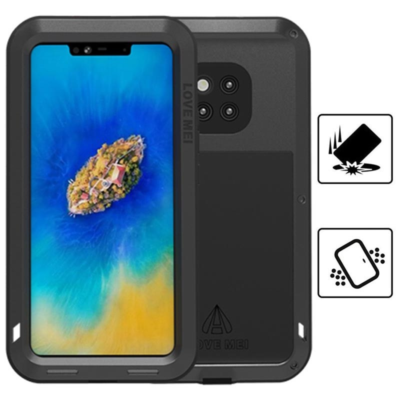 the latest 768bc 475dd Love Mei Powerful Huawei Mate 20 Pro Hybrid Case