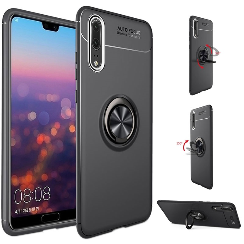 check out 74175 b77f6 Huawei P20 Pro Magnet Ring Grip / Kickstand Case