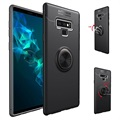 Samsung Galaxy Note9 Magnet Ring Grip / Kickstand Case - Black