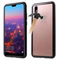 Huawei P20 Pro Magnetic Case with Tempered Glass Back