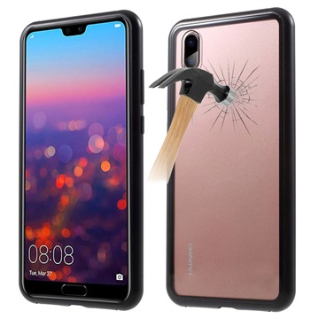 best value 98961 bc290 Huawei P20 Pro Magnetic Case with Tempered Glass Back