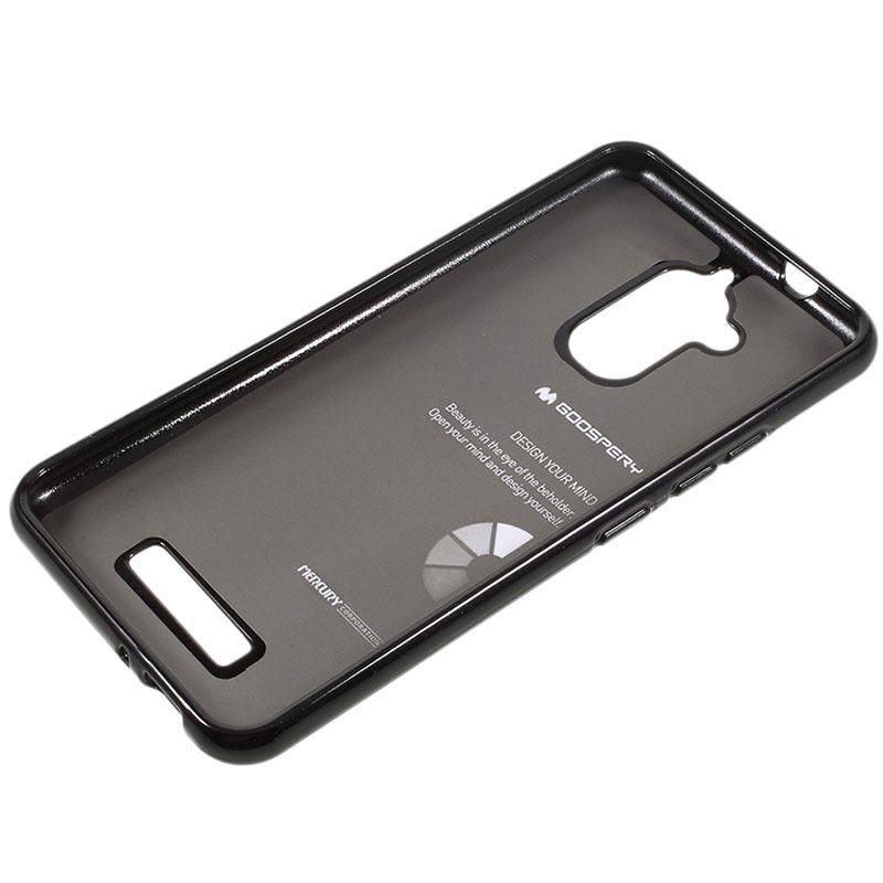 asus zenfone 3 max zc520tl mercury goospery tpu case black. Black Bedroom Furniture Sets. Home Design Ideas