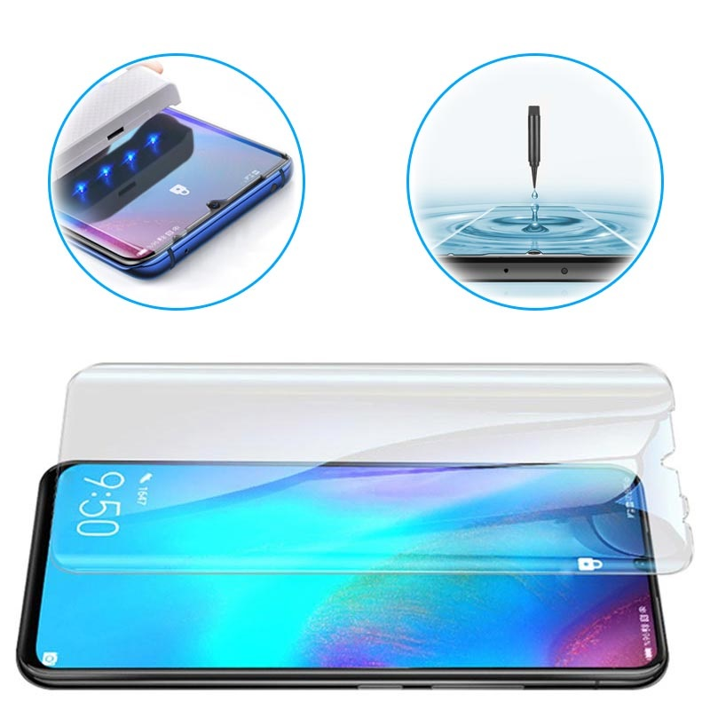 Mocolo Uv Huawei P30 Pro Tempered Glass Screen Protector Clear