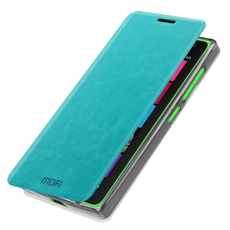 ... Lumia 532, Lumia 532 Dual SIM Mofi Rui Series Flip Case - Blue
