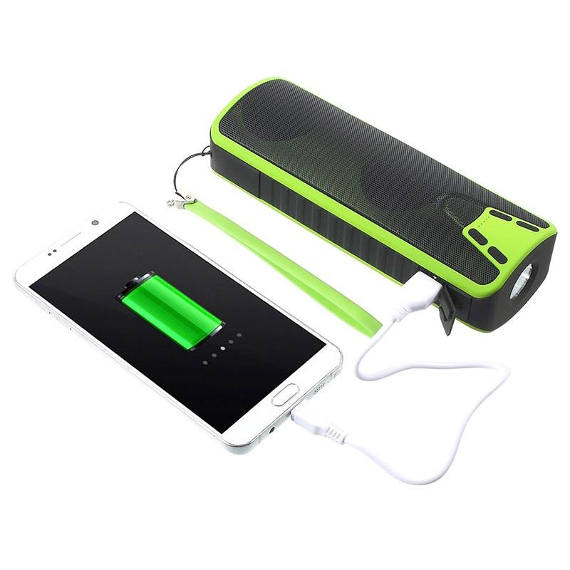 Multifunctional 4-in-1 Bluetooth Speaker / Power Bank