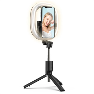 Multifunctional LED Selfie Stick with Tripod Stand R10