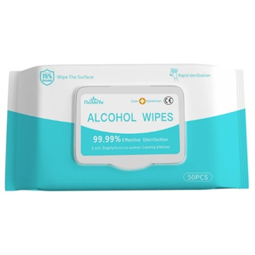 Multipurpose Antibacterial Disinfectant Wet Wipes - 50 Pcs.