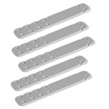 MyGuard Neck Holding Clip for Respirator Masks - 5Pcs. - Grey