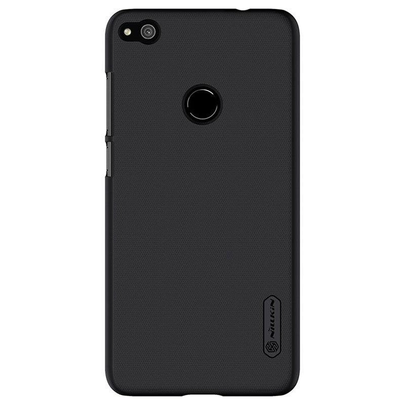 huawei p8 lite 2017 nillkin super frosted shield case black. Black Bedroom Furniture Sets. Home Design Ideas